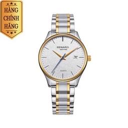 Đồng hồ nam SENARO 66018G.TWT White Elegance Enhanced Men's Watch - Thương hiệu Nhật Bản chính hãng