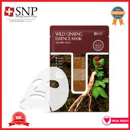 Mặt Nạ Sâm Núi SNP – SNP Wild Ginseng Essence Mask