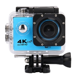 Máy Quay Thể Thao Camera Hành Động Camera Hành Trình F60R 4K Ultra Hd Ngoài Trời Chống Nước Điều Khiển Từ Xa Màu Xanh