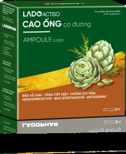 Combo 5 hộp Cao Ống actiso atiso Ladophar - Loại Có Đường