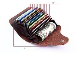 Ví đựng thẻ, giấy tờ, CMT, ATM, name card nhiều ngăn Da Bò thật tiện dụng