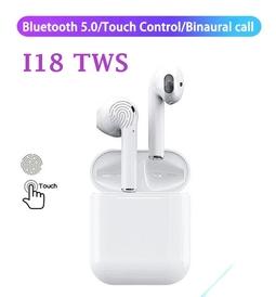Tai Nghe Bluetooth 5.0 TWS I18 Cảm Ứng Cao Cấp
