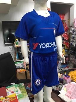 Bộ thể thao bé trai CLB Chelsea xanh