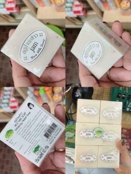 Xà Phòng Kích Trắng Cám Gạo Thái Lan Jam Rice Milk Soap mẫu mới