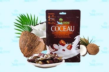Kẹo dừa cà phê A-V-C