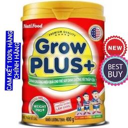 Sữa Bột growplus đỏ nutifood 900g