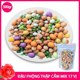 Đậu Phộng Thập Cẩm Mix 17 Vị (500g)(NCFOOD)