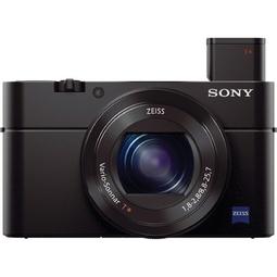 Máy ảnh Compact Sony Cyber-shot DSC-RX100 III Đen - Hàng chính hãng (Tặng kèm thẻ nhớ SD 16GB và túi)