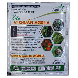 Thuốc trị bệnh Agri A (bộ 5 gói, 20ml/gói) - siêu diệt khuẩn - chuyên dùng cho hoa lan - đặc trị bệnh thối nhũn