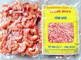 Đặc sản Quảng Bình - Tôm Khô Loại 1