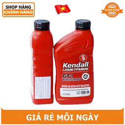 Nhớt tổng hợp Kendall GT-1 10W30 SN+ 964ml- hàng chính hãng