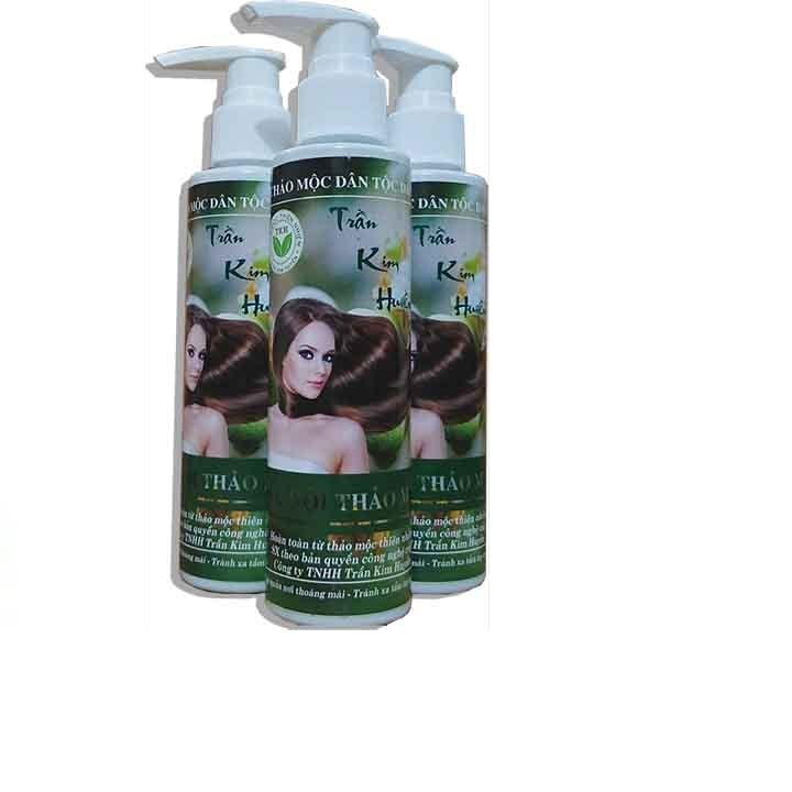 Dầu gội thảo mộc Trần Kim Huyền – Kích thích mọc tóc,giảm gẫy rụng