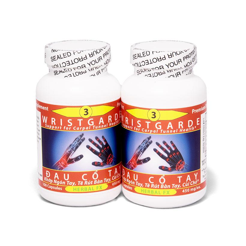 [Sản Phẩm Mỹ] Điều trị đau đau khớp ngón tay & cổ tay - Toàn Chân chai số 3