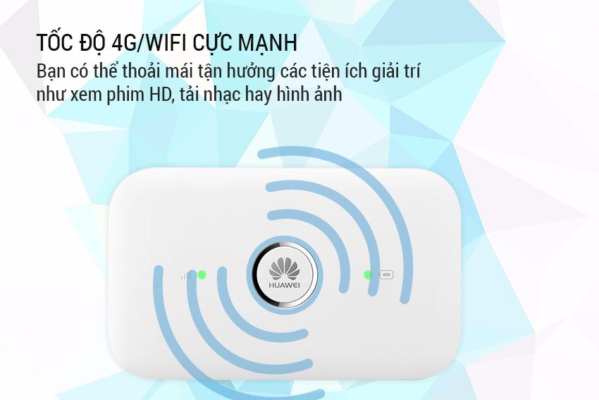 Bộ Phát Wifi 4G Huawei E5573Cs-322, Phiên Bản Quốc Tế, Hàng Công Ty