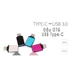 Đầu Chuyển Đổi OTG Cho Máy Có Cổng USB Type-C