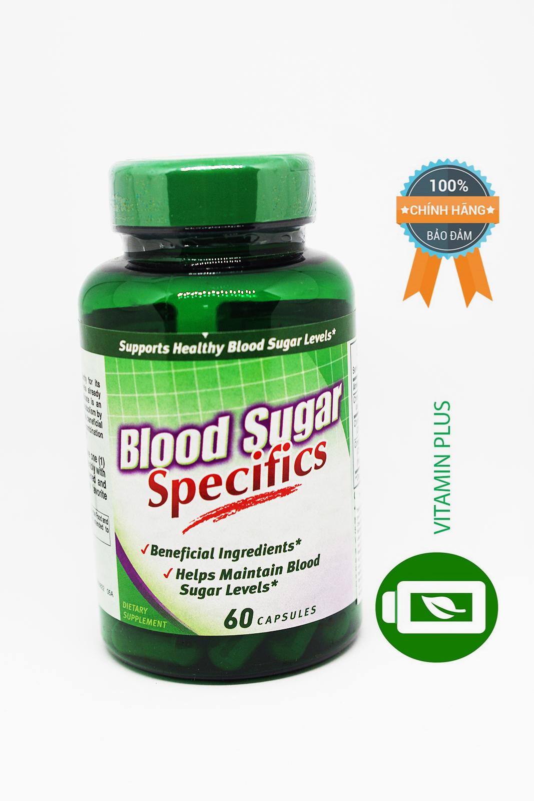 Giảm đường huyết Blood Sugar specifics 60 viên - 55534VP