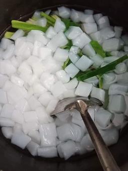 Combo Thạch Dừa Thô Bến Tre (02) Kg kèm hương liệu chuẩn