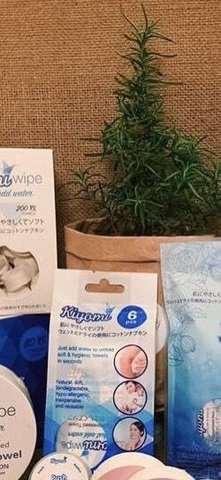 Combo1: Combo Khăn nén đa năng Kiyomi của Nhật