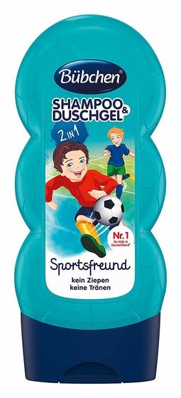 Sữa tắm gội thể thao Bubchen 230ml - 99858
