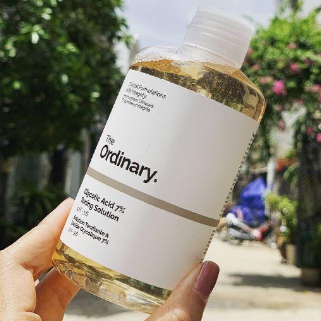 Nước Cân Bằng Da The Ordinary Glycolic Acid 7% Toning Solution pH ...