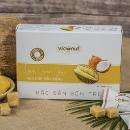 Kẹo dừa Bến Tre Viconut - Vị sầu riêng (200g)