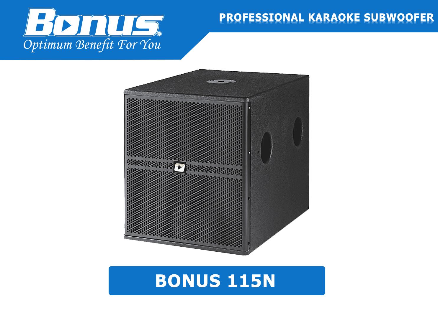 Loa sub hơi Bonus Audio 115N