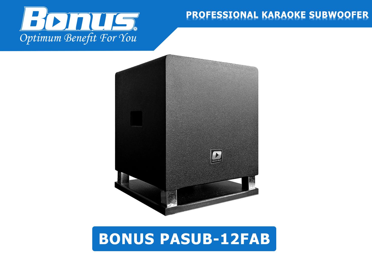 Loa sub điện Bonus Audio PASUB-12FAB