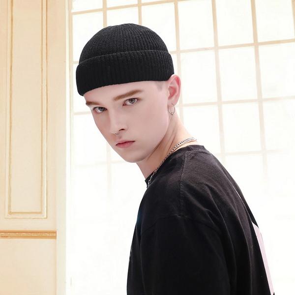 Mũ len trùm đầu phong cách Hip Hop NL17, Nón len trơn màu phong cách Hàn Quốc dành cho cả nam và nữ