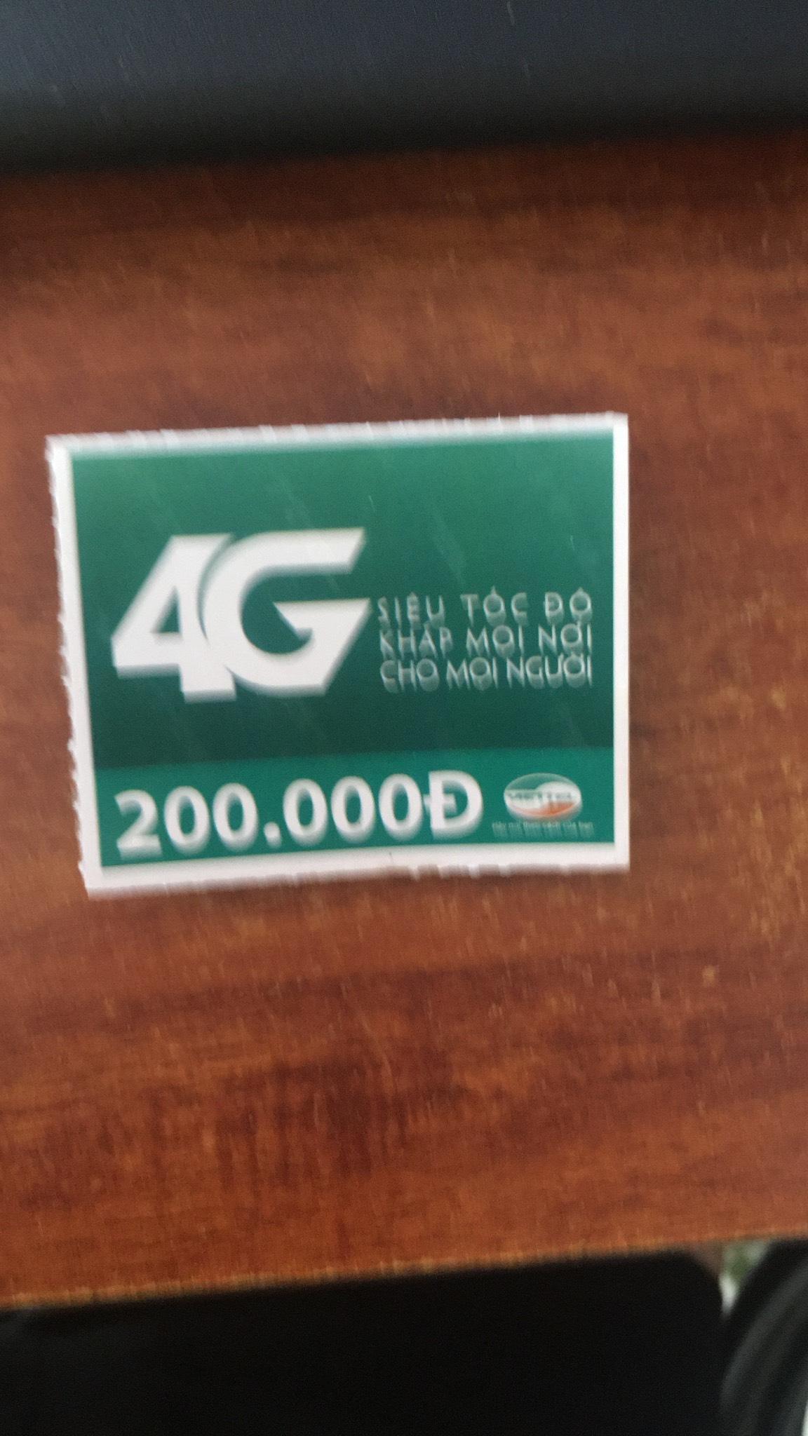 Thẻ cào mệnh giá 200