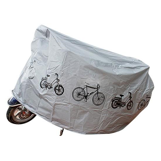 bạt phủ xe hình xe đạp máy màu ngẫu nhiên