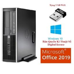 Cây máy tính Siêu Nhanh HP 6300 Pro Sff , CPU i5 - 2400, Ram 4GB, SSD 128GB, DVD, tặng USB Wifi, hàng nhập khẩu, bảo hành 24 tháng, không kèm màn hình