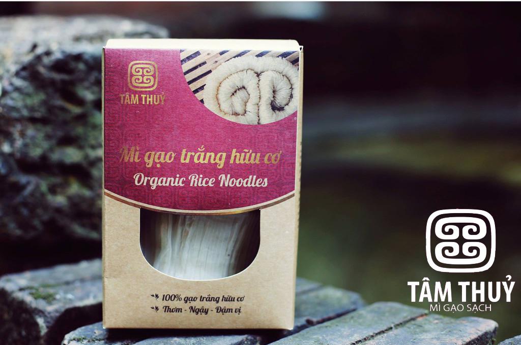 Mì gạo trắng hữu cơ Tâm Thủy