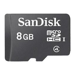 Thẻ nhớ MicroSD Sandisk (tray) 8GB class 4 chính hãng