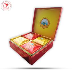Bánh Trung Thu Yến Sào Khánh Hòa 2019 Cao Cấp Hộp 4 Cái x 200gr