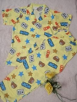 Đồ bộ pijama vải tole tay ngắn quần dài size từ 55-65kg