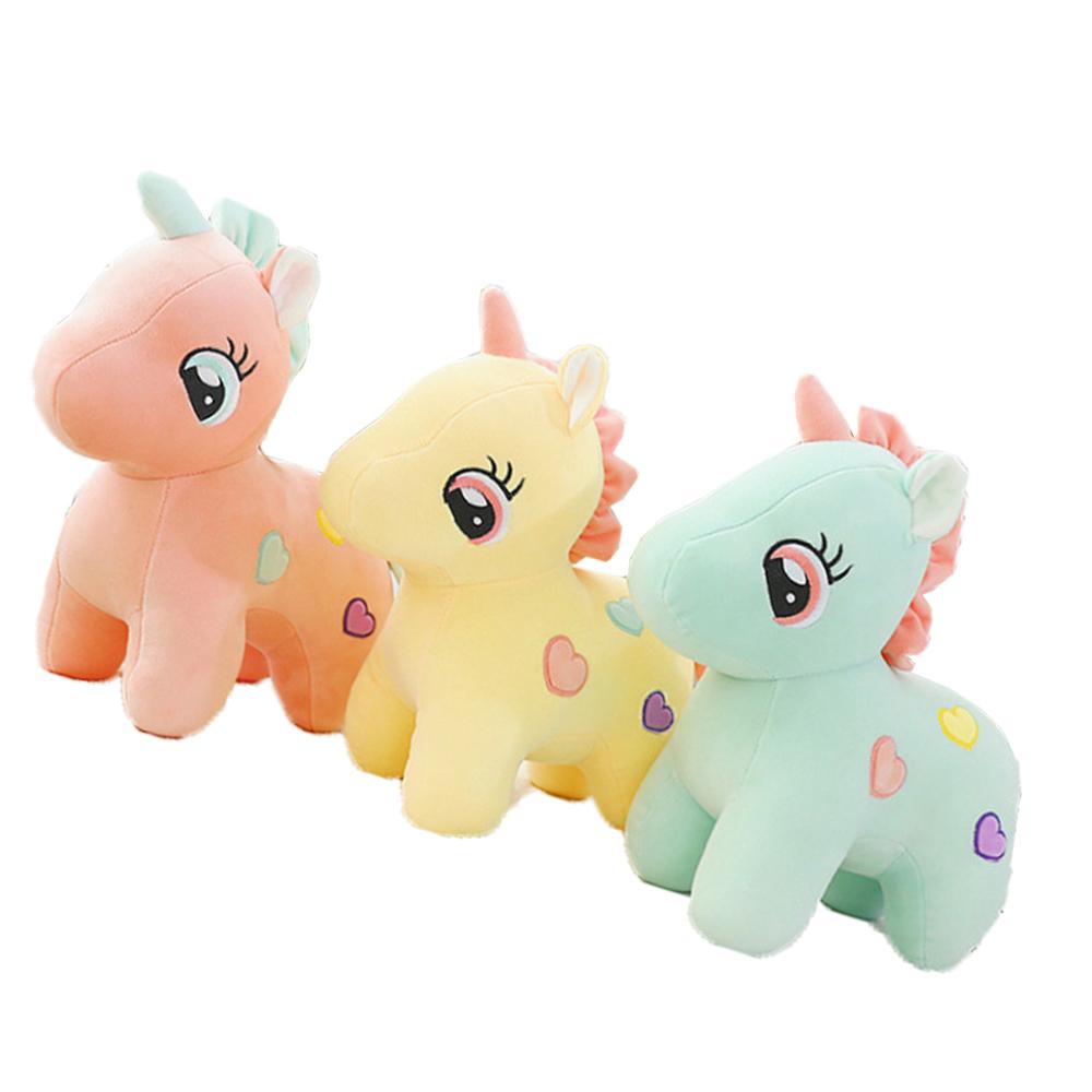 Ngựa Sừng Bông Baby 30cm Hàng Nhập Kiểu Dáng Đáng Yêu (3 màu)