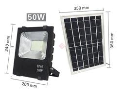 [Đèn Led] năng lượng mặt trời NLP-50W