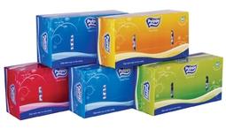 Combo 5 hộp khăn giấy lụa Pulppy