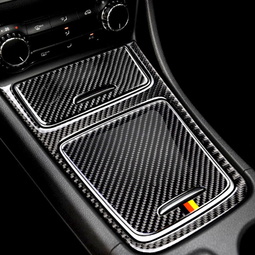 Vòng Carbon dán viền công tắc đề nổ xe Mercedes-Benz C-class W205 / w213 / GLC