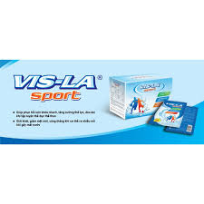 Bù nước Visla Sport - Bổ sung điện giải hộp 10 gói * 19g