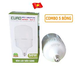 Bộ 5 Bóng đèn 50W EURO SUPER cao cấp