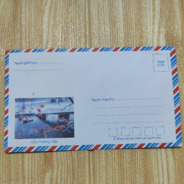 Bịch 100 phong bì có keo dán sẵn