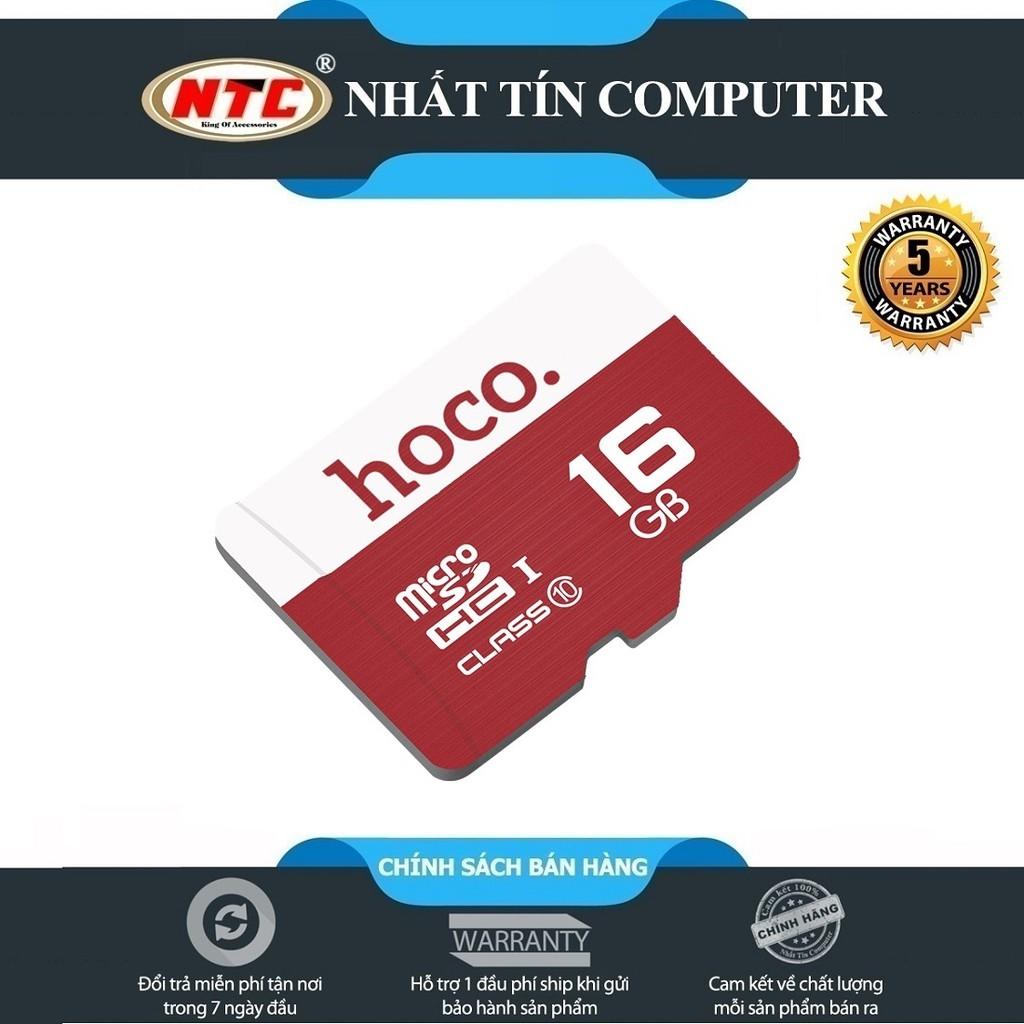 Thẻ nhớ microSDHC Hoco 16GB Class 10 85MB/s - Bảo hành 5 năm (Đỏ) - P755642  | Sàn thương mại điện tử của khách hàng Viettelpost