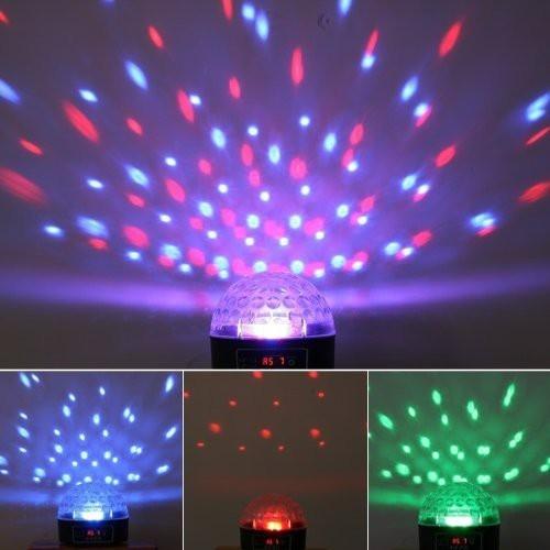Đèn Led Pha Lê 7 Màu – Đèn Cảm Ứng Theo Nhịp Nhạc DMX512
