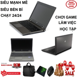 Laptop game và đồ họa giá tốt HP Probook 6560 core i5 2520M/ Ram 4g/ HDD 250G/ màn 15.6 inch Có Phím số, Màn to/ Loa nghe hay/ dòng máy bề bỉ