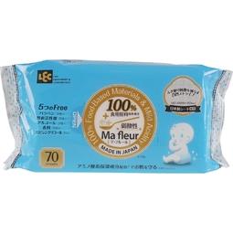 Giấy ướt LEC cao cấp 100% nguyên liệu thực phẩm tự nhiên Ma Fleur SS-495 70 tờ