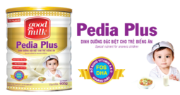 Sữa tăng cân Goodmilk Pedia Plus 900g – Dinh dưỡng đặc biệt cho trẻ biếng ăn, thấp còi - Sữa bột cho trẻ biếng ăn