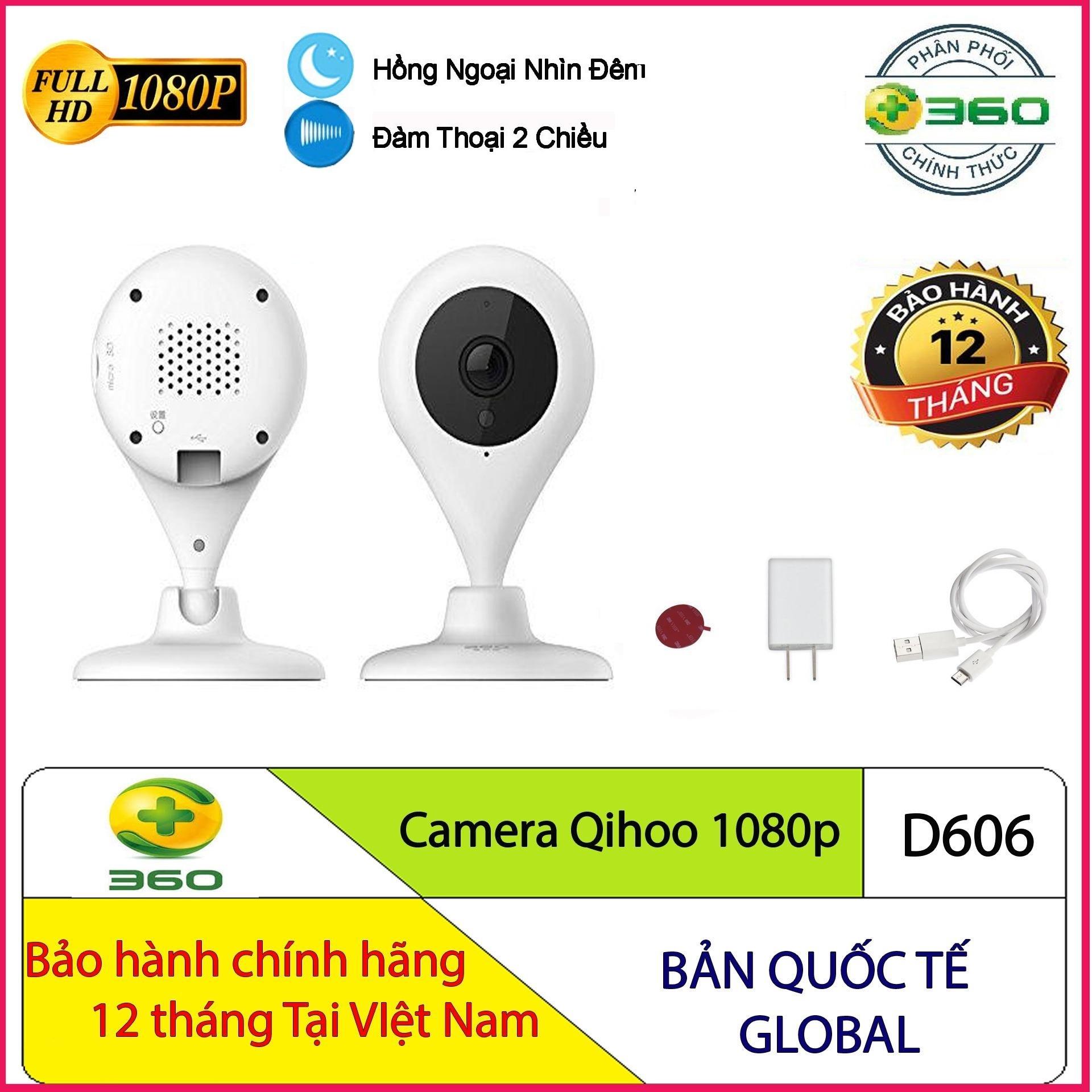 Camera Quan Sát Qihoo 360 D606 Full HD 1080p - Hàng Chính Hãng