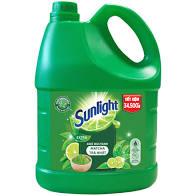 Nước rửa chén Sunlight trà xanh Can 3,6 lít
