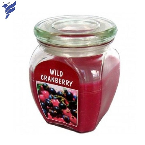 Hũ nến thơm Bolsius Wild Cranberry BOL7512 540g (Hương việt quất hoang dã)